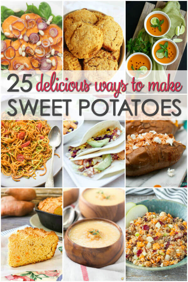 25 sweet potato recipes it is a keeper for How to make delicious sweet potatoes